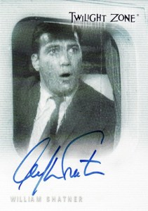 1999 Twilight Zone Premiere Edition Autographs A1 William Shatner