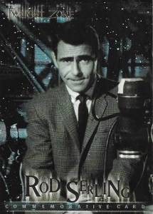 1999 Twilight Zone Premiere Edition Commemorative Card