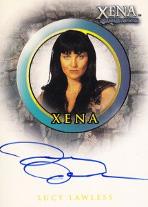 2001 Xena Seasons 4 and 5 Autographs A1 Lucy Lawless