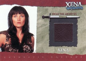 2001 Xena Seasons 4 and 5 Costume Card R1