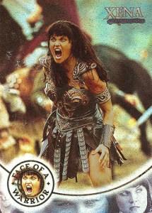 2001 Xena Seasons 4 and 5 Xena Face of a Warrior