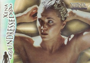 2001 Xena Seasons 4 and 5 Xena Undressed