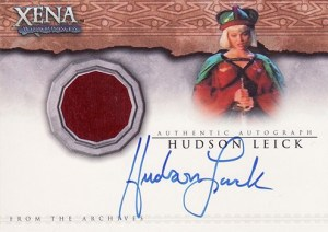 2002 Xena Beauty and Brawn Autographed Costume Card AC2