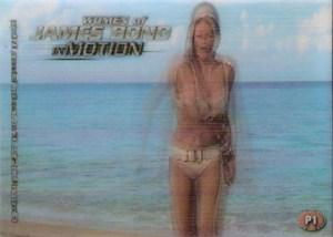 2003 James Bond Women of Bond In Motion Promo P1