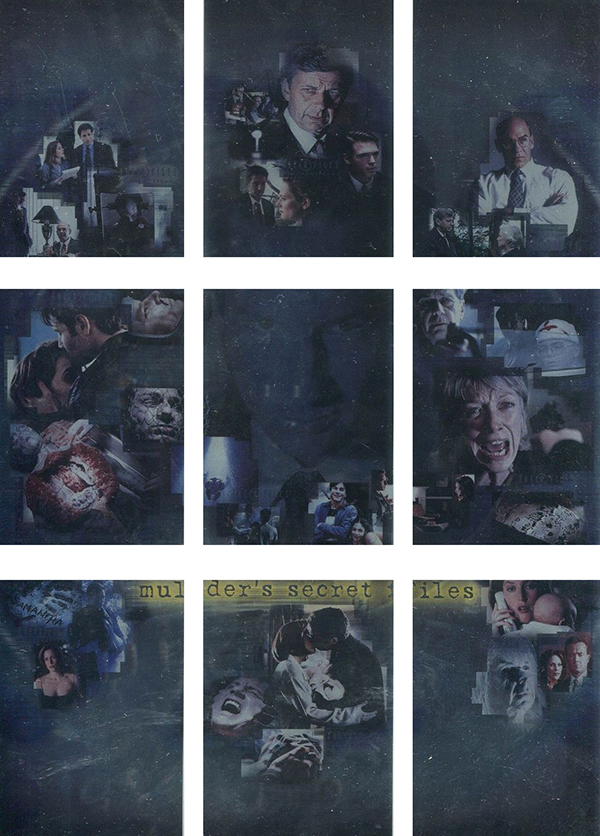 2005 X-Files Connections Mulders Secret Files