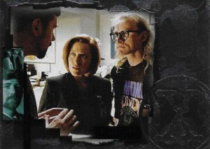 2005 X-Files Connections Silver Parallel