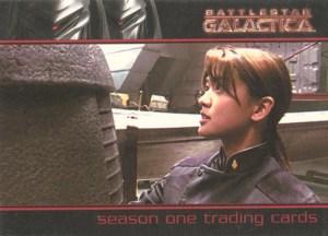 2006 Battlestar Galactica Season 1 Promo Card P1