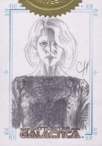 2006 Battlestar Galactica Season 1 Sketch Card