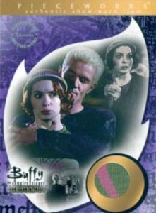 2006 Buffy Memories Pieceworks PW13