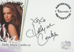 2006 Charmed Destiny Autographs Holly Marie Combs