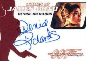 WA30 Denise Richards as Dr. Christmas Jones