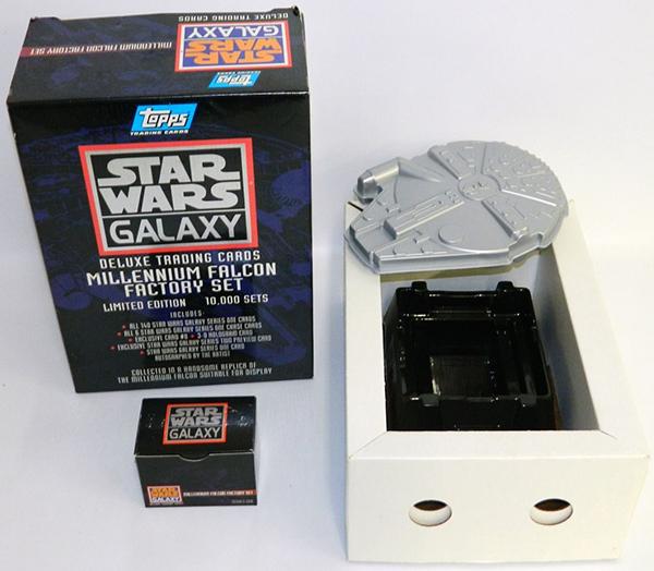 1993 Star Wars Galaxy Millennium Falcon Factory Set