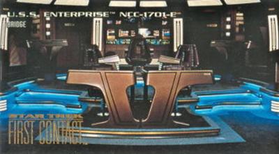 1996 Star Trek First Contact Enterprise