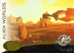 2000 Star Trek Cinema 2000 Alien Worlds