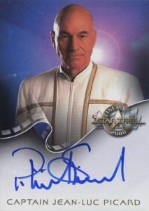 2000 Star Trek Cinema 2000 Autographs A1 Patrick Stewart