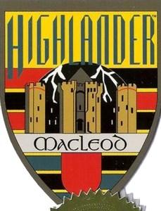 2003 Complete Highlander Case Topper