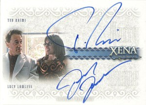 2003 Quotable Xena Autographs DA8 Raimi Lawless