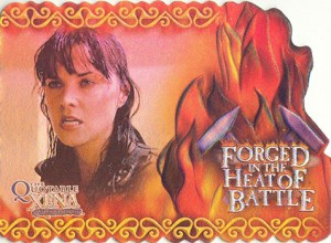2003 Quotable Xena Forged in the Heart of Battle