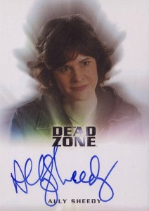 2004 Rittenhouse Dead Zone Autographs Ally Sheedy