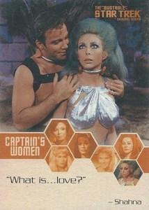2004 Quotable Star Trek TOS Captain's Women