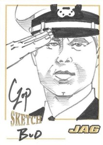 2006 JAG Premiere Edition Sketch Card