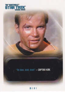 2006 Star Trek TOS 40th Anniversary Quotable Star Trek Expansion
