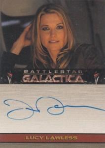 2007 Battlestar Galactica Season 2 Autographs Lucy Lawless