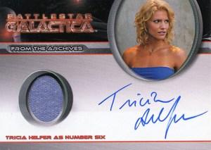 2008 Battlestar Galactica Season 3 Autographed Costume Tricia Helfer