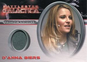 2008 Battlestar Galactica Season 3 Costume Cards CC34