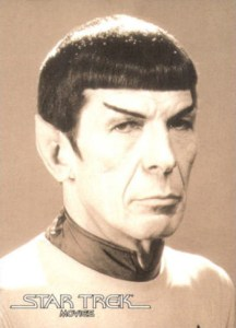2008 Star Trek Movies In Motion Portraits