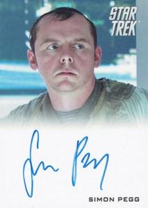 2009 Star Trek Movie Autographs Simon Pegg