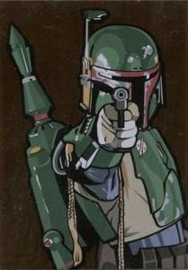 2010 Star Wars Galaxy 5 Bronze Foil