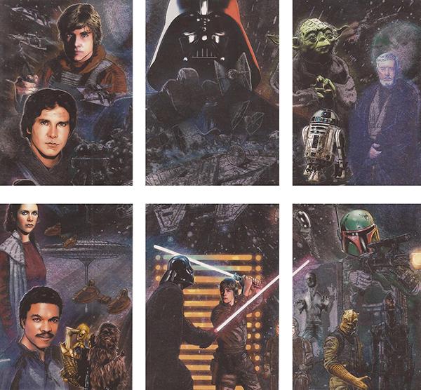 2010 Star Wars Galaxy 5 Etched Foil