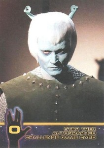 1998 Star Trek TOS Season 2 Autograph Challenge