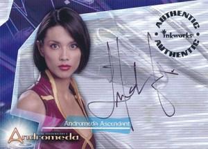 2001 Andromeda Season 1 Autographs A3 Lexa Doig