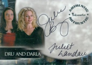 2001 Angel Season 2 Autographs A2001 Angel Season 2 Autographs DA1 Juliet Landau Julie Benz