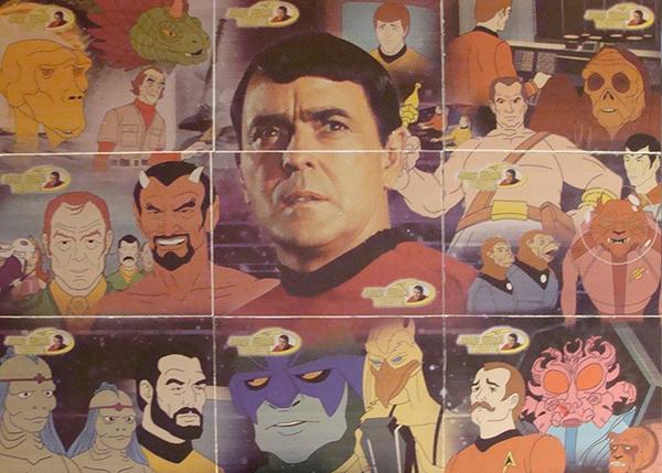 2003 Complete Star Trek Animated Adventures James Doohan Tribute