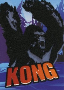 2005 King Kong Flocked Creature Cards