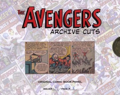 2006 Complete Avengers Archive Cuts