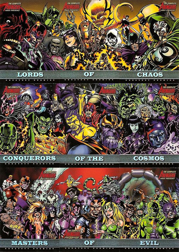 2006 Complete Avengers Greatest Enemies
