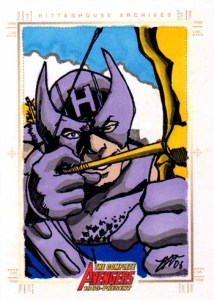 2006 Complete Avengers Sketch Card