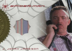2007 Spider-Man 3 Costume Card Shirt