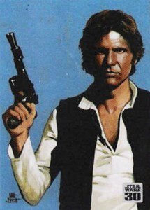 2007 Star Wars 30th Anniversary Bonus Card