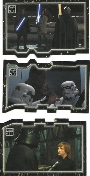 2007 Star Wars 30th Anniversary Triptych