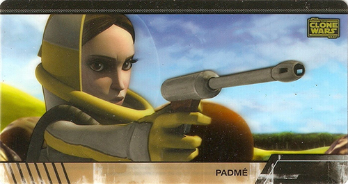 2009 Star Wars Clone Wars Widevision Animation Cel