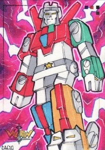 2009 Voltron Sketch Cards Chad Cicconi