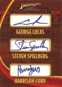 George Lucas, Steven Spielberg, Harrison Ford