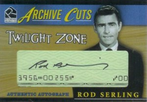 2005 Twilight Zone Science and Superstition Archive Cuts Rod Serling