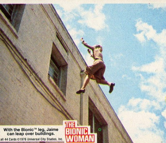 1976 Donruss Bionic Woman Trading Cards