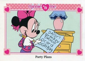 1993 Minnie N Me Series 2 Base